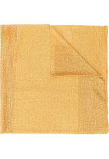 Missoni Cachecol De Tricô Canelado - Dourado