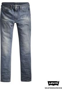 Calça Jeans Levis Skateboarding 504 Straight - Masculino