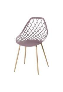Cadeira Frank Camurca Pes Bege - 50065 Preto