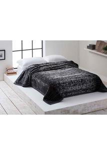 Cobertor Casal Microfibra Noah Cinza Corttex
