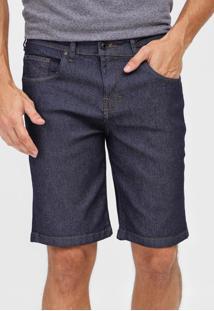 Bermuda Jeans Hurley Reta Day Azul