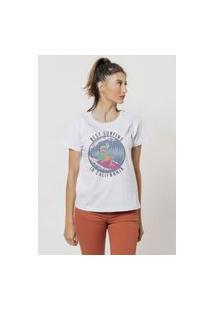 Camiseta Jay Jay Basica Best Surfing Branca Dtg