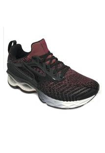 Tênis Mizuno Wave Creation Waveknit 2 Preto