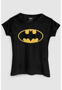 Camiseta Dc Comics Batman Clássico Bandup! - Feminino