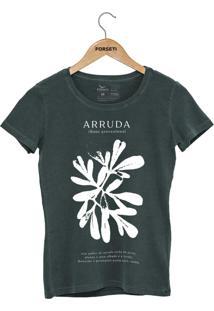Camiseta Forseti Estonada Arruda Verde - Kanui