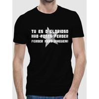 Camiseta Botafogo Tu És O Glorioso Masculina - Masculino b3b0ff7395625