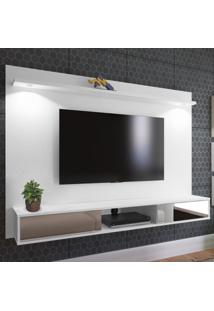 Painel Para Tv Até 60 Polegadas Platinum 2 Portas Branco - Artely