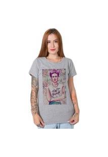 Camiseta Stoned Vintage Frida Cinza