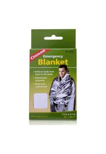 Cobertor De Emergência Coghlan'S Aluminizado .