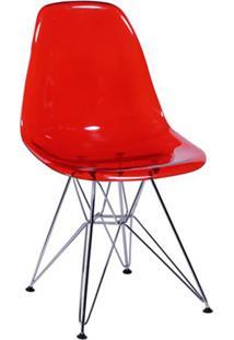 Cadeira Eames Ii Vermelha