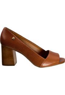 Sapato Peep Toe Loucos E Santos Snake L21120016 A02 - Feminino