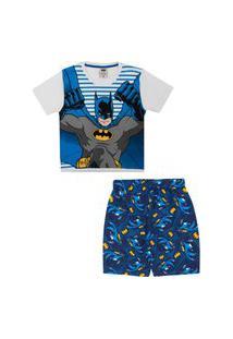 Pijama Infantil Lupo Batman 23121-002
