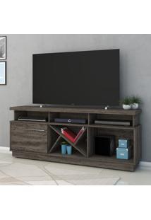 Rack Para Tv 1 Porta Gabriele 501025 Vulcano - Madetec