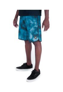 Bermuda Hd Sublimada 8703A - Masculina - Azul