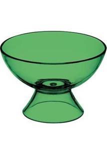 Taça De Sobremesa Acrílico Verde 6 Peças - Kos