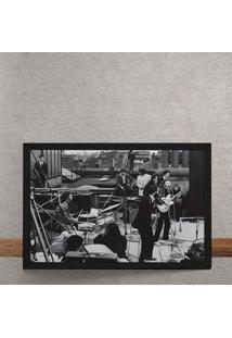 Quadro Decorativo The Beatles Terraco Savile Row 25X35