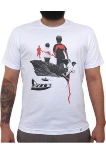 Run Forest Run - Camiseta Clássica Masculina