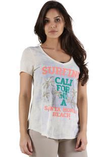 T-Shirt It'S & Co St Monica Off-White