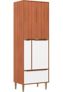 Paneleiro C/Porta Tempero 5406 – Multimóveis - Nogueira / Branco