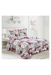 Colcha King Camesa Evolution Patchwork 260X280Cm Lassi