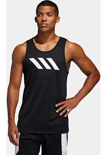 Regata Adidas Sport 3Stripes Masculina - Masculino