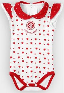 Body Internacional Bebê Cotton Coração - Feminino