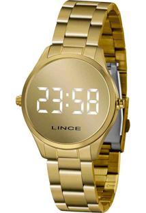 Relógio Feminino Digital Led Lince Mdg4617L Bxkx