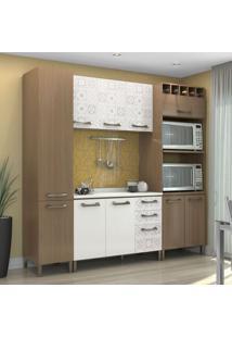 Cozinha Compacta Sense 10 Pt 3 Gv Nature E Branca