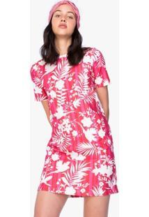 Vestido Amaro De Crepe Reto - Feminino