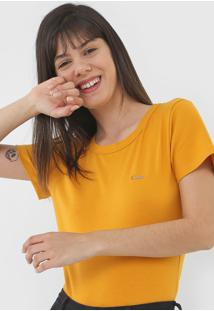 Camiseta Coca-Cola Jeans Logo Amarela - Kanui