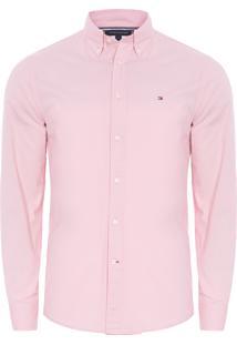 Camisa Masculina Classic Poplin - Rosa