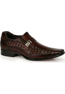 Sapato Social Masculino Rafarillo Marrom