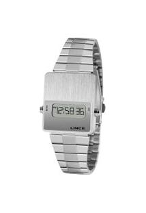 Relógio Digital Lince Feminino - Sdm4634L Prateado