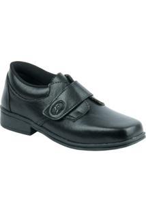Sapato Raniel Social Com Velcro Infantil - Masculino