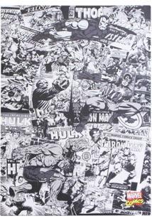 Quadro Comics Preto E Branco