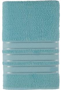 Toalha De Rosto Felpuda 100% Algodão 45X70 Teka Dry Alice - Teka - Azul Claro