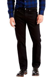 Calça Jeans Levis 514 Straight Preto