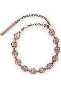 Colar Chocker Metal Mr Rosa - P