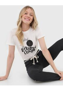 Camiseta Cantão Eclipse Lunar Off-White