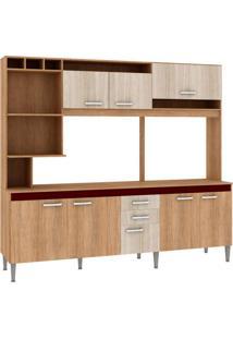 Cozinha Compacta Helen 8 Pt 2 Gv Carvalho Com Blanche