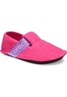 Classic Slipper- Pink & Roxocrocs
