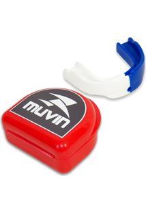 Protetor Bucal Dual Color Muvin Ptb-200 - Unissex