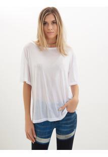 Camiseta John John Cloud Malha Branco Feminina (Branco, P)