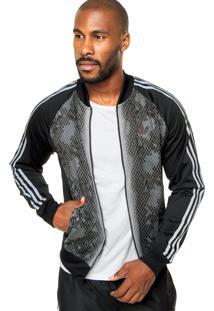 b0a09367f8 Jaqueta Adidas Originals Sst Snake Tt Preta
