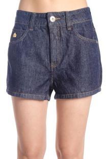 Shorts Jeans Cintura Alta Colcci