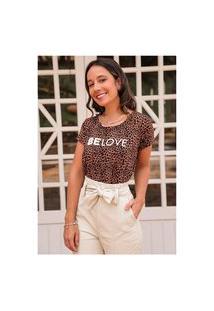 T-Shirt Onça Belove