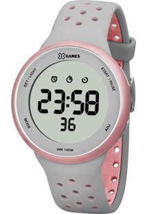 Relógio Digital X Games Feminino - Xfppd039 Cinza