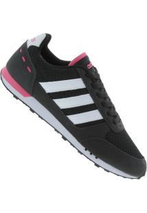 Tênis Adidas Neo City Racer - Feminino - Preto afa72bcc3de7b