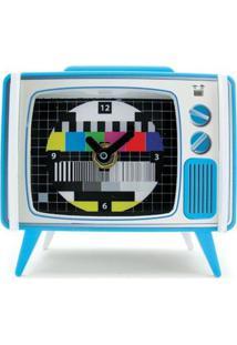 Relógio De Mesa Tvzinha Geek10 - Multicolorido