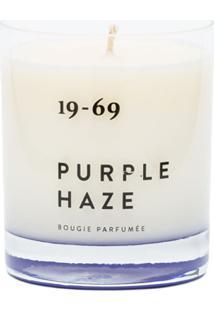 19-69 Purple Haze Candle - Branco
